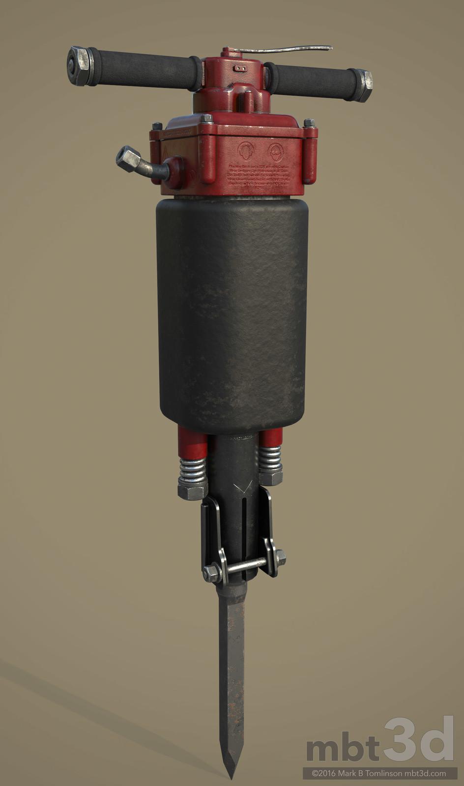 Jackhammer Drill