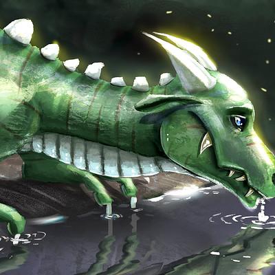 Kai satoshi thirsty dragon small