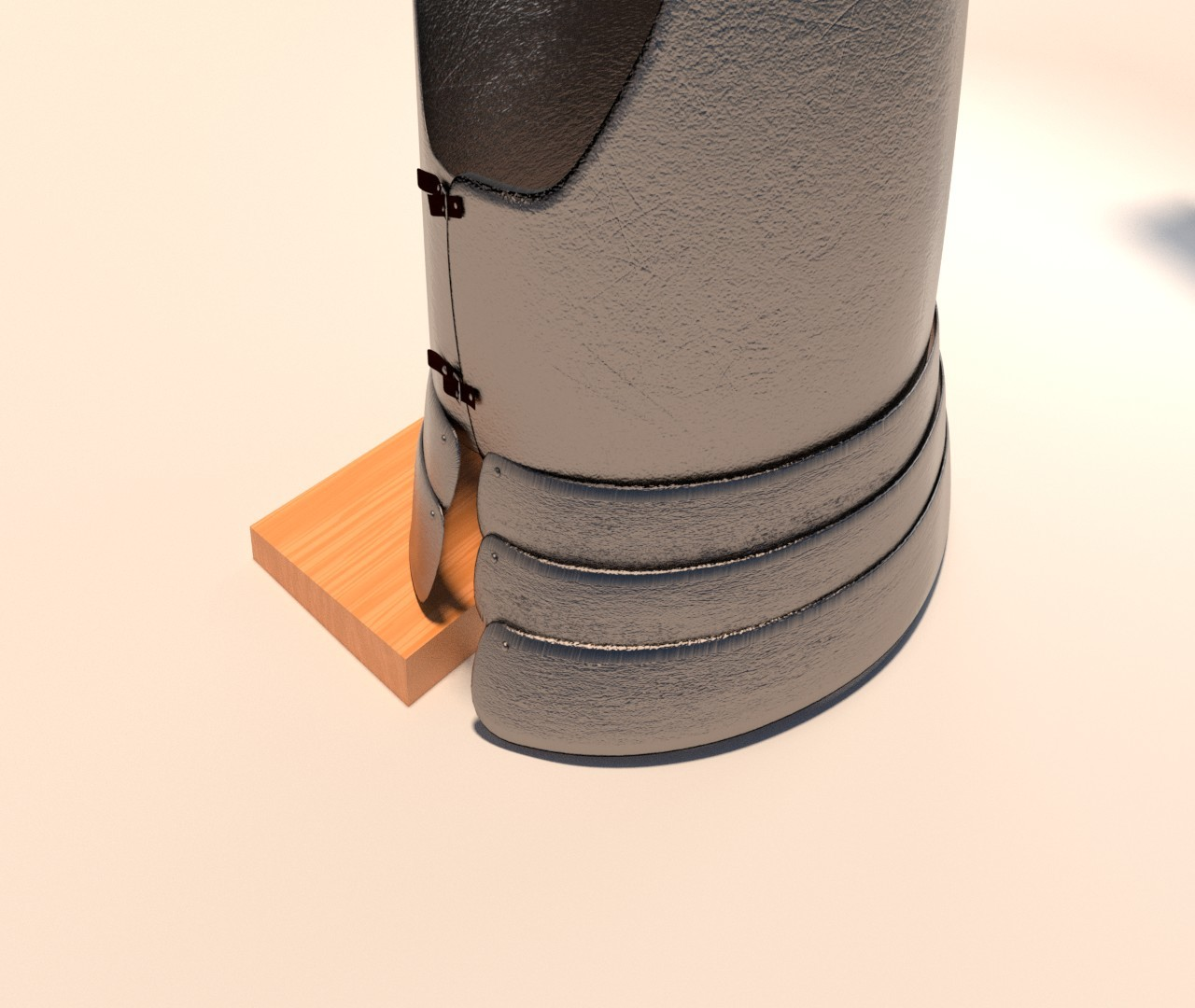 Cuirass 2 - Back view detail