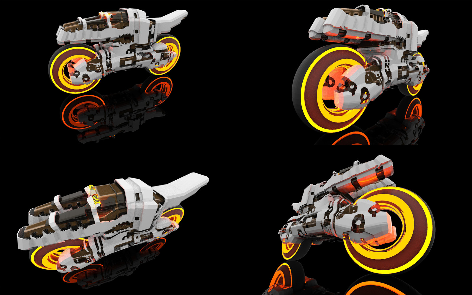 Sci Fi Motorcycle Concept