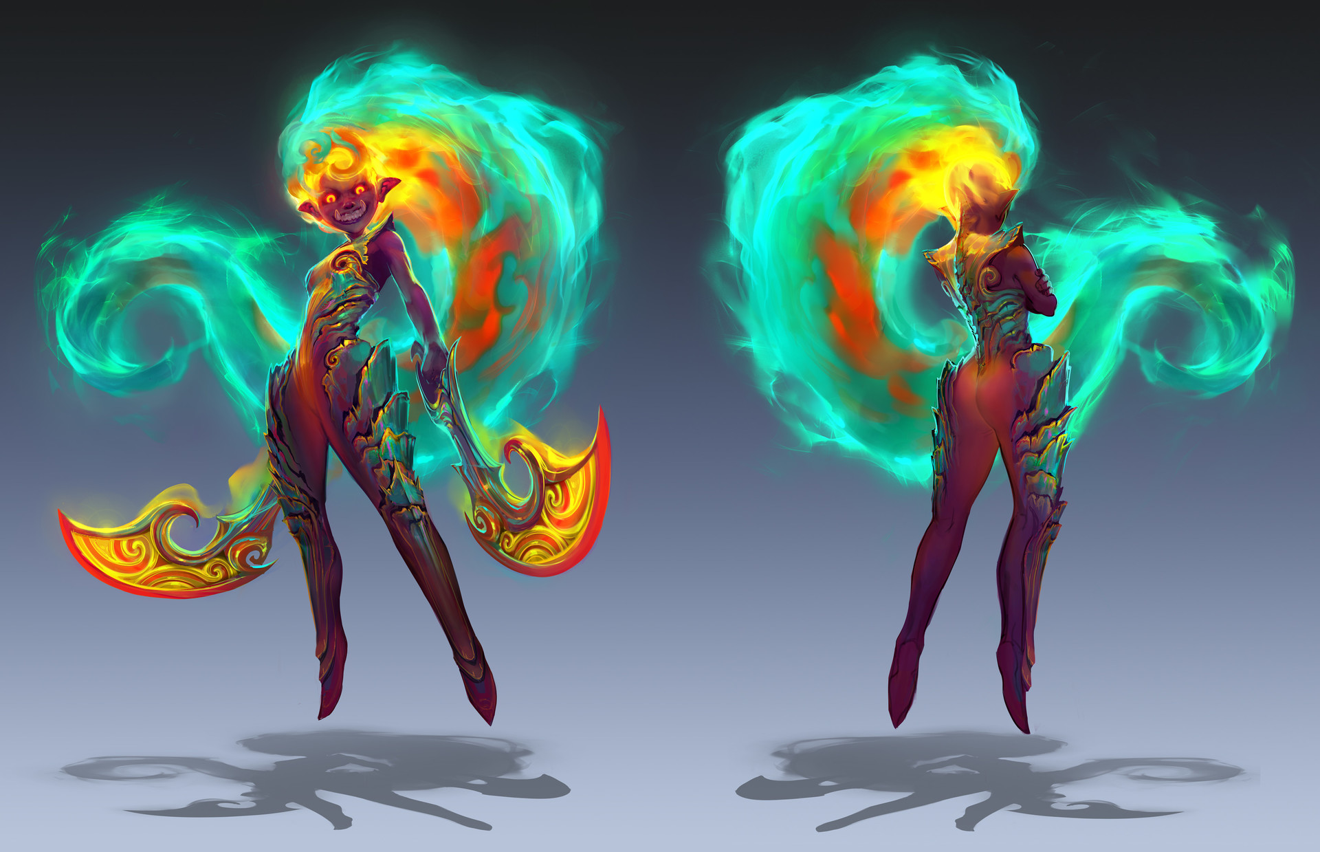 Artstation League Fan Champion Designs Wips Simon Dubuc