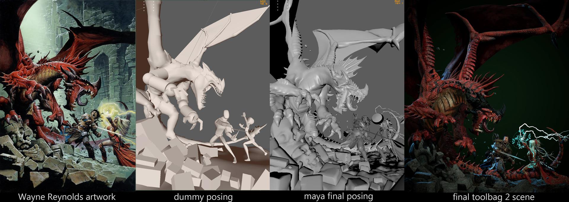 Rafael malavassi posing process
