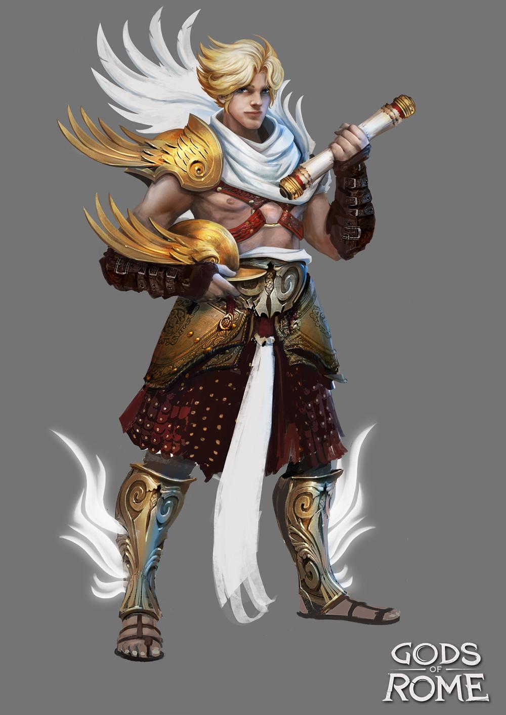 Alexandre chaudret gor characters mercury01
