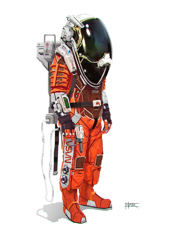 Robin har astronaut2