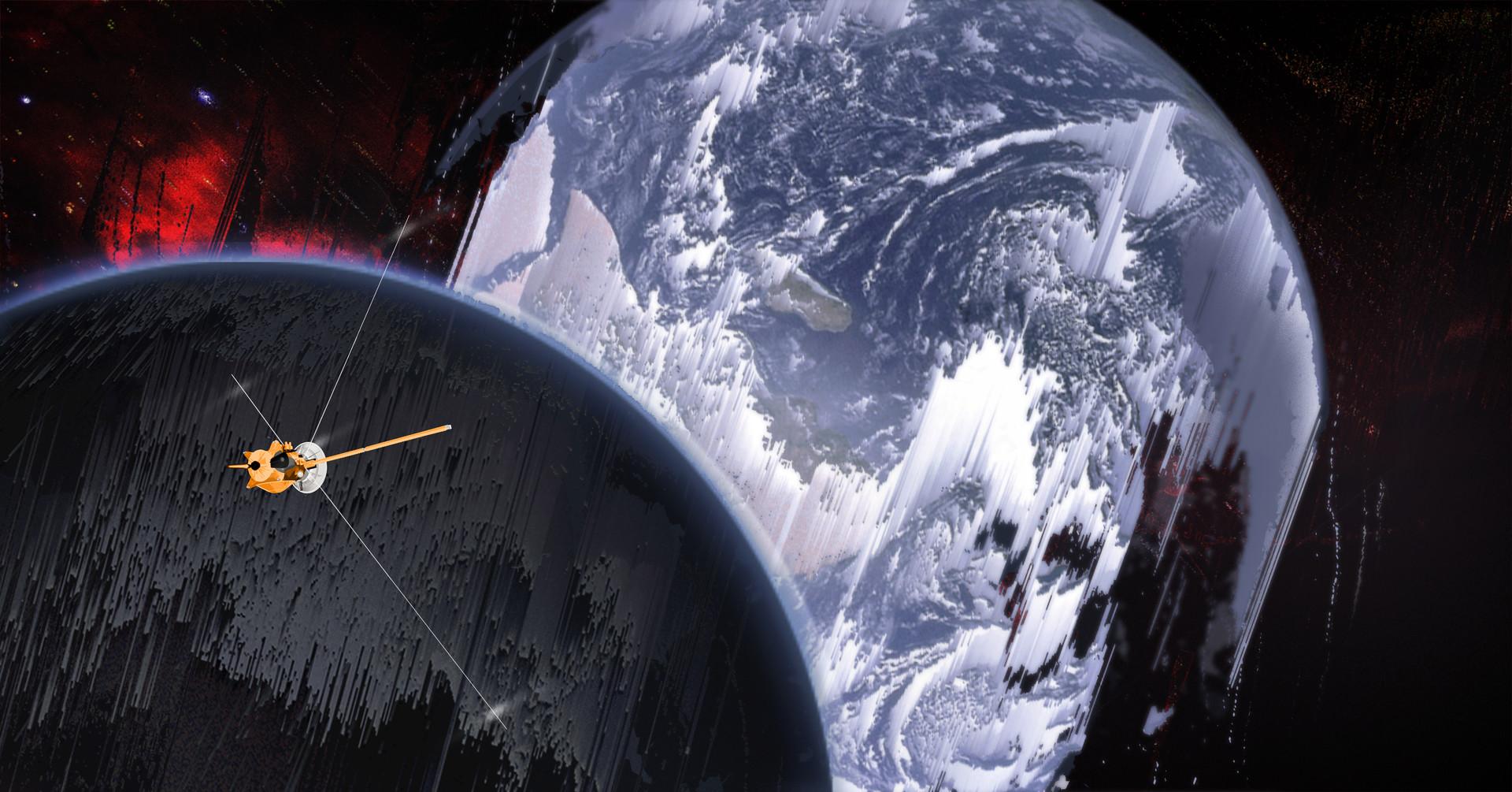 Korina hunjak earth moon