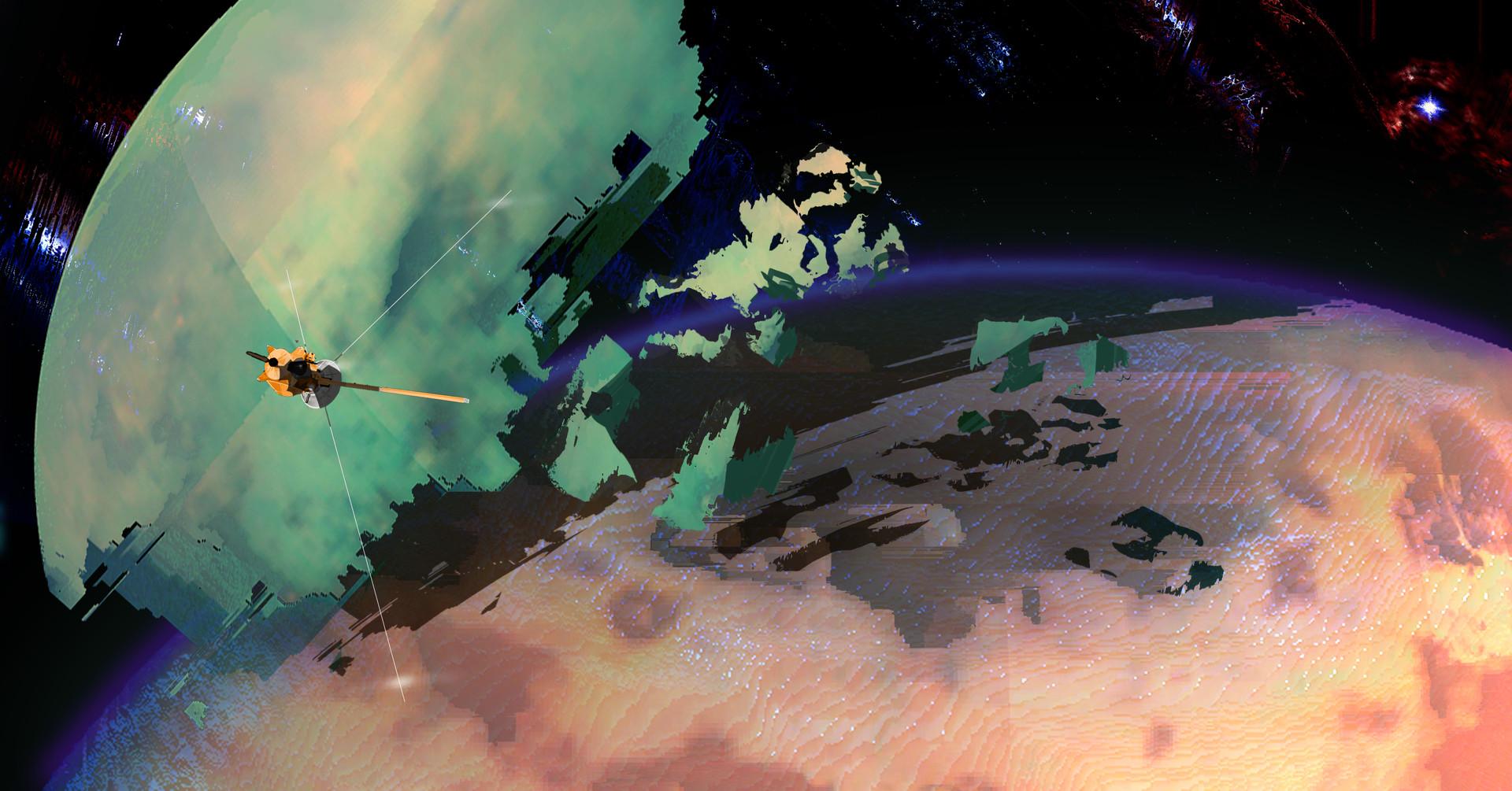 Korina hunjak titan mars