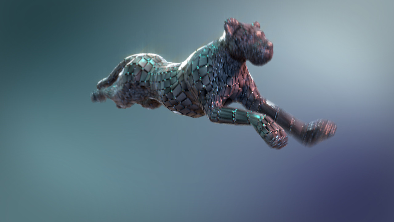 Cyber cheetah