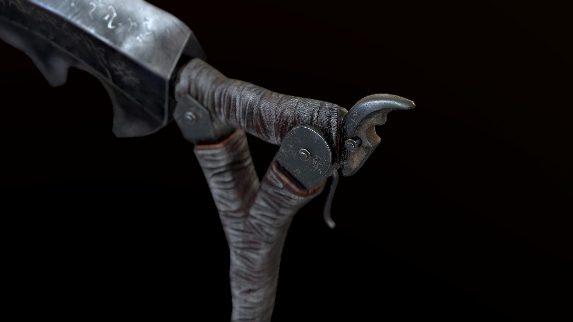 Volodymyr Zavezystup Bloodborne Burial Blade