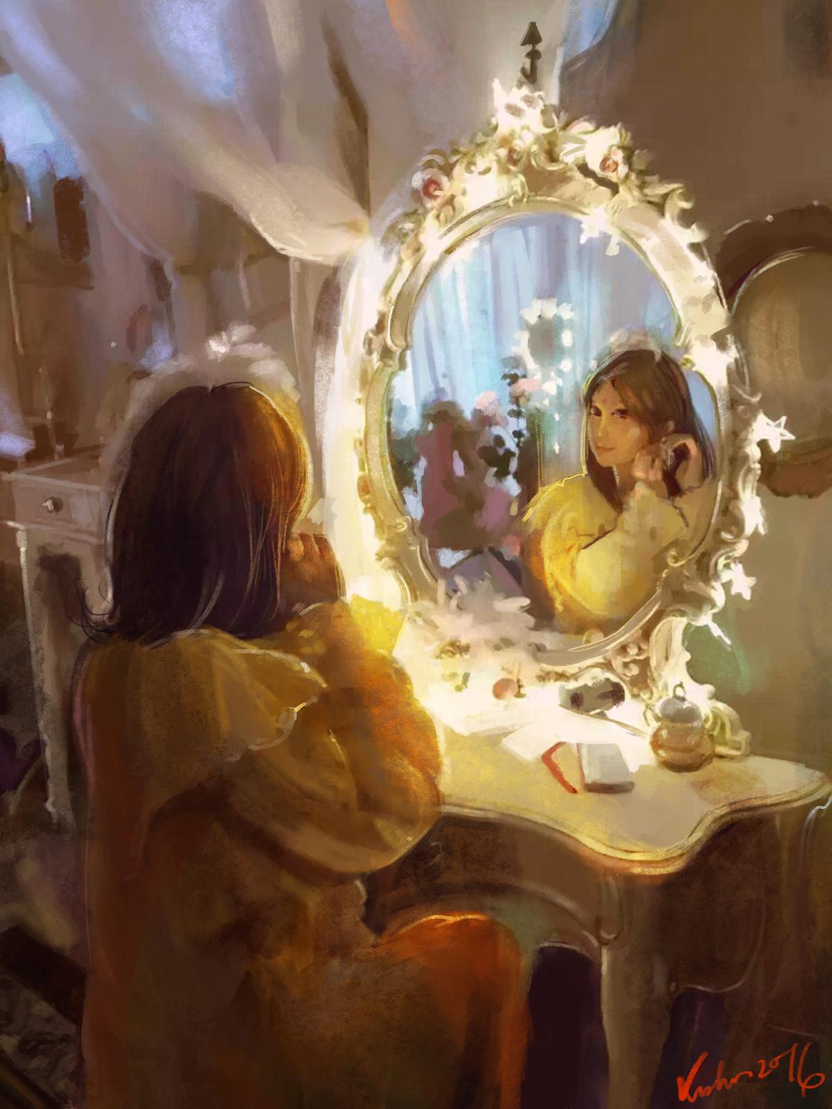 magic mirror real
