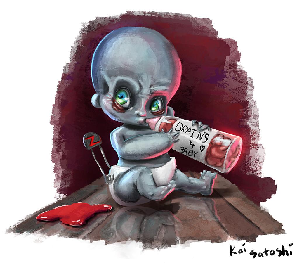 Kai satoshi zombie baby small