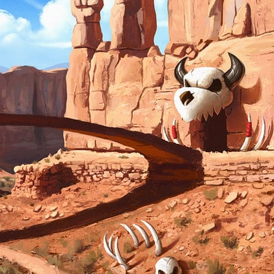 Robert brown env desert valley2 copy