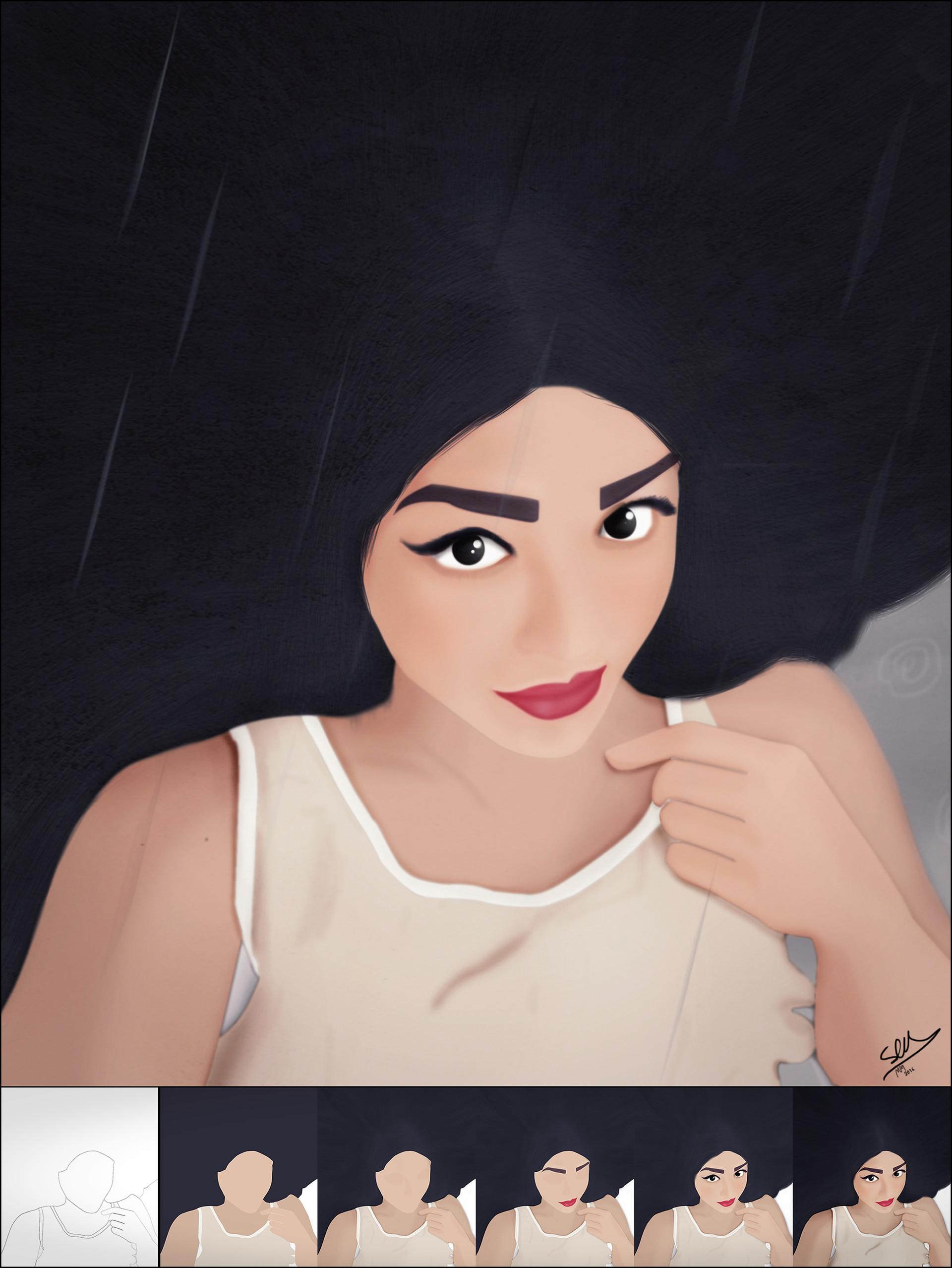 Saman kazemi ida portrait