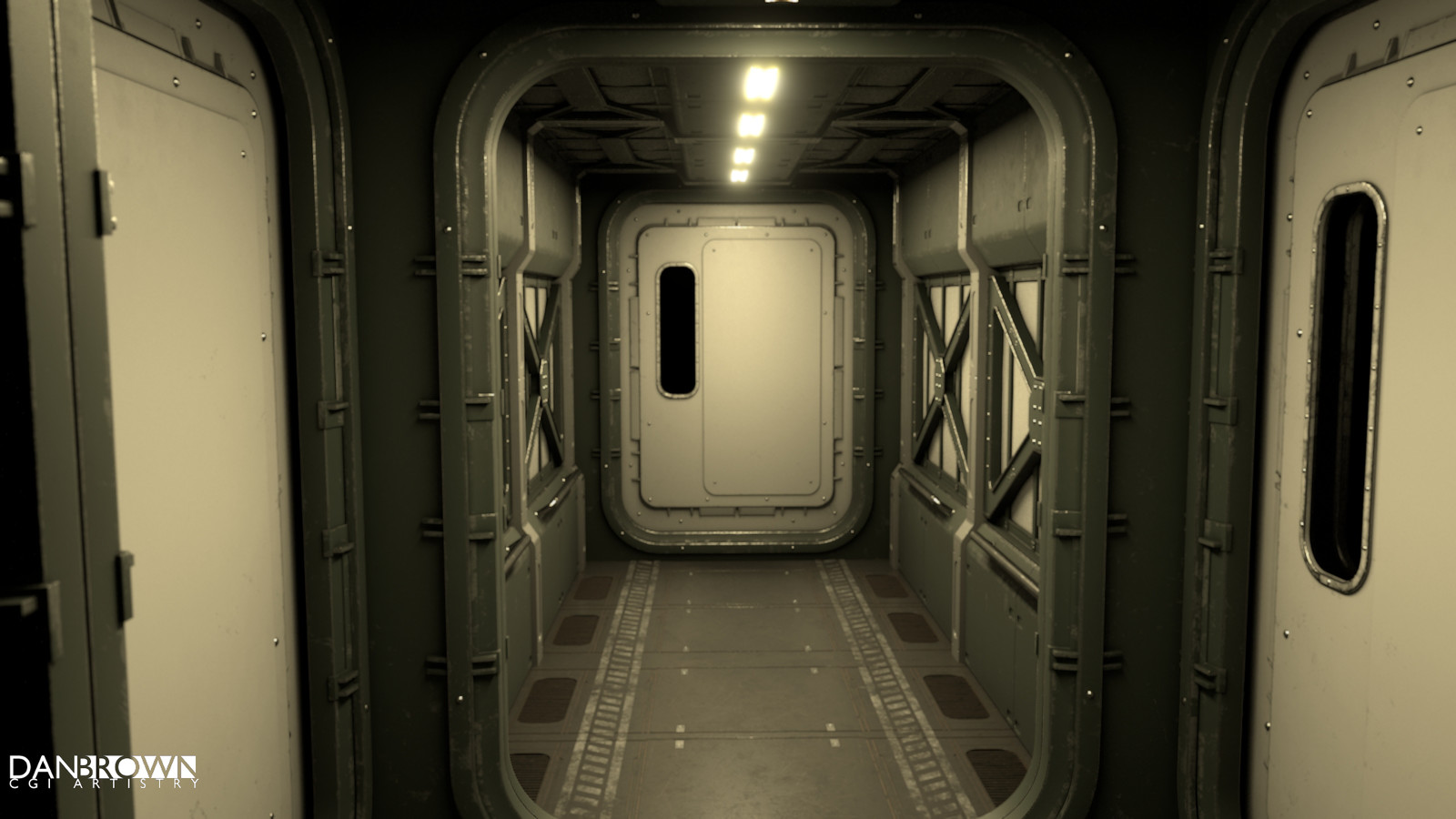 Bare bones corridor