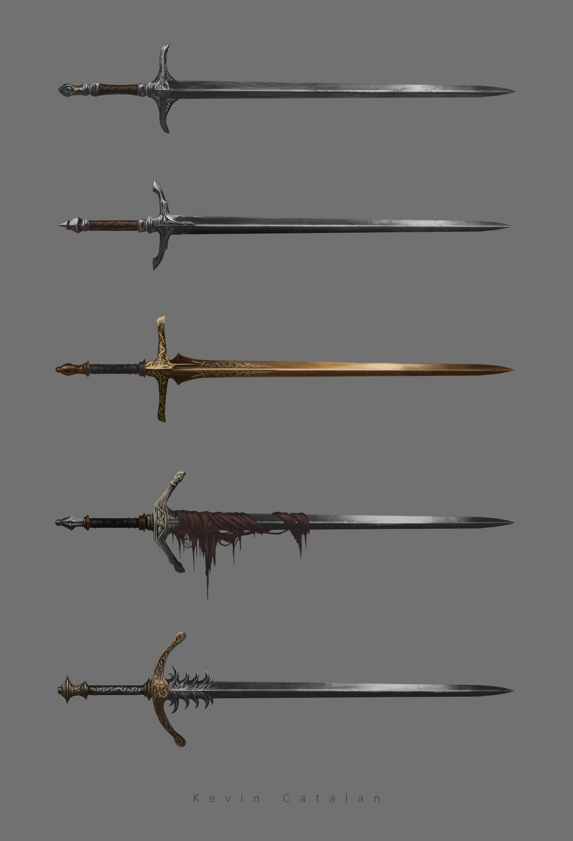 ArtStation - Long Sword Designs, Kevin Catalan