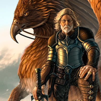 Robert crescenzio gryphon and rider