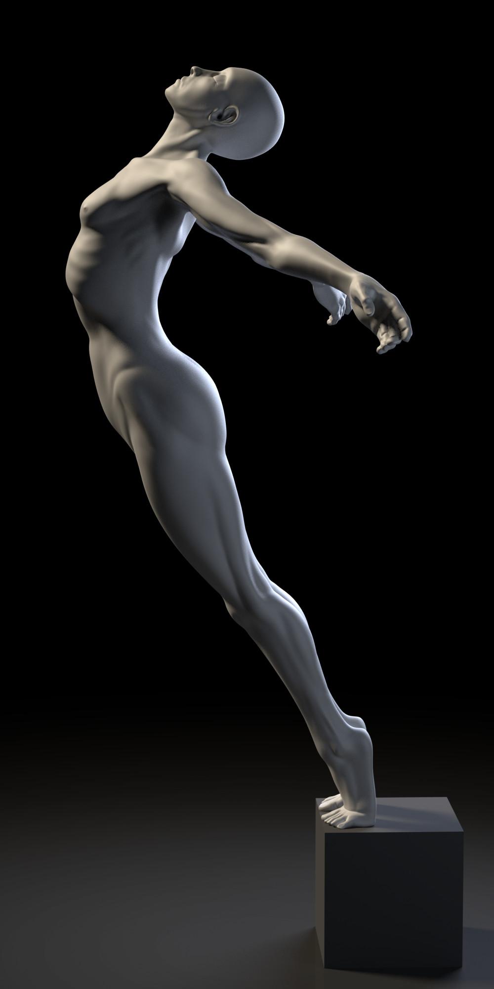 Warm Study The Nude Female Anatomy Scenes