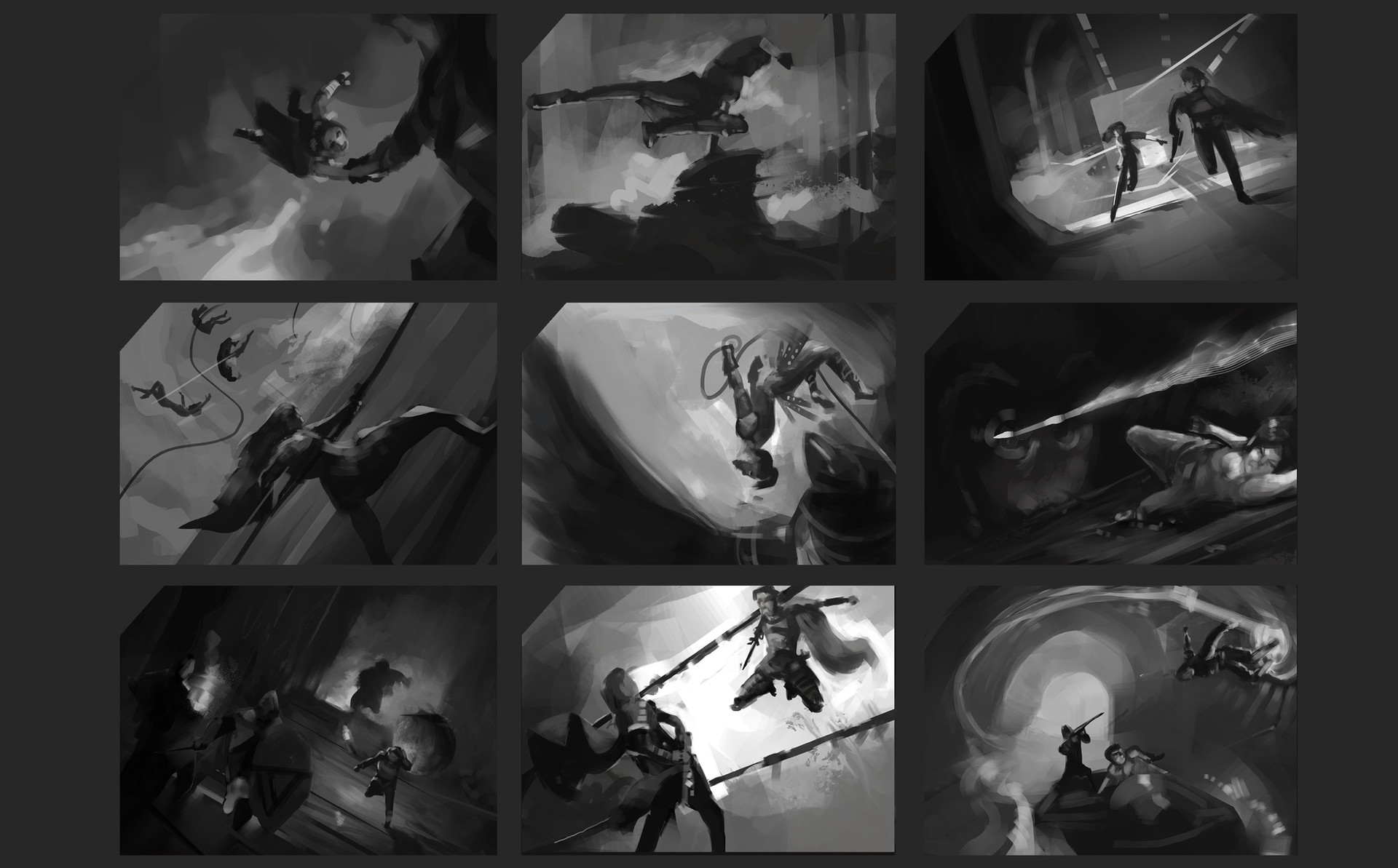 I wanted some more action and dynamics in my portfolio.
