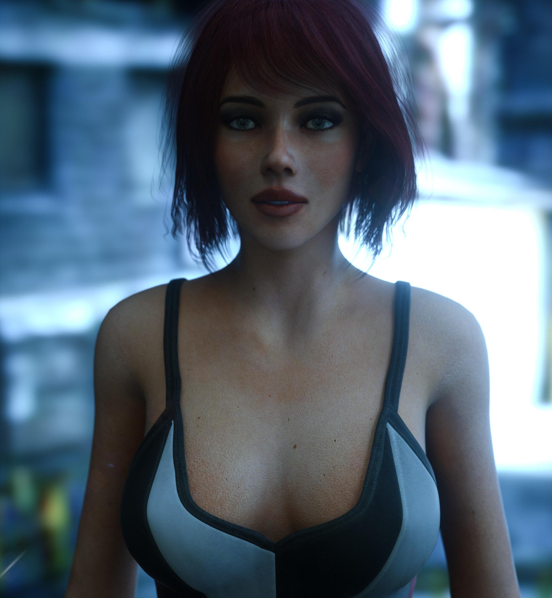 ArtStation - Black Widow, VR Russell