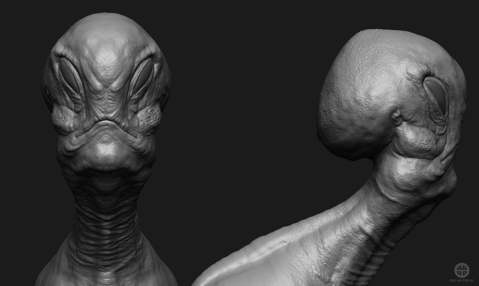 Oscar trejo alien fashion wip 6