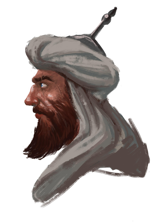 Ashraf fawzy sketche bebars02