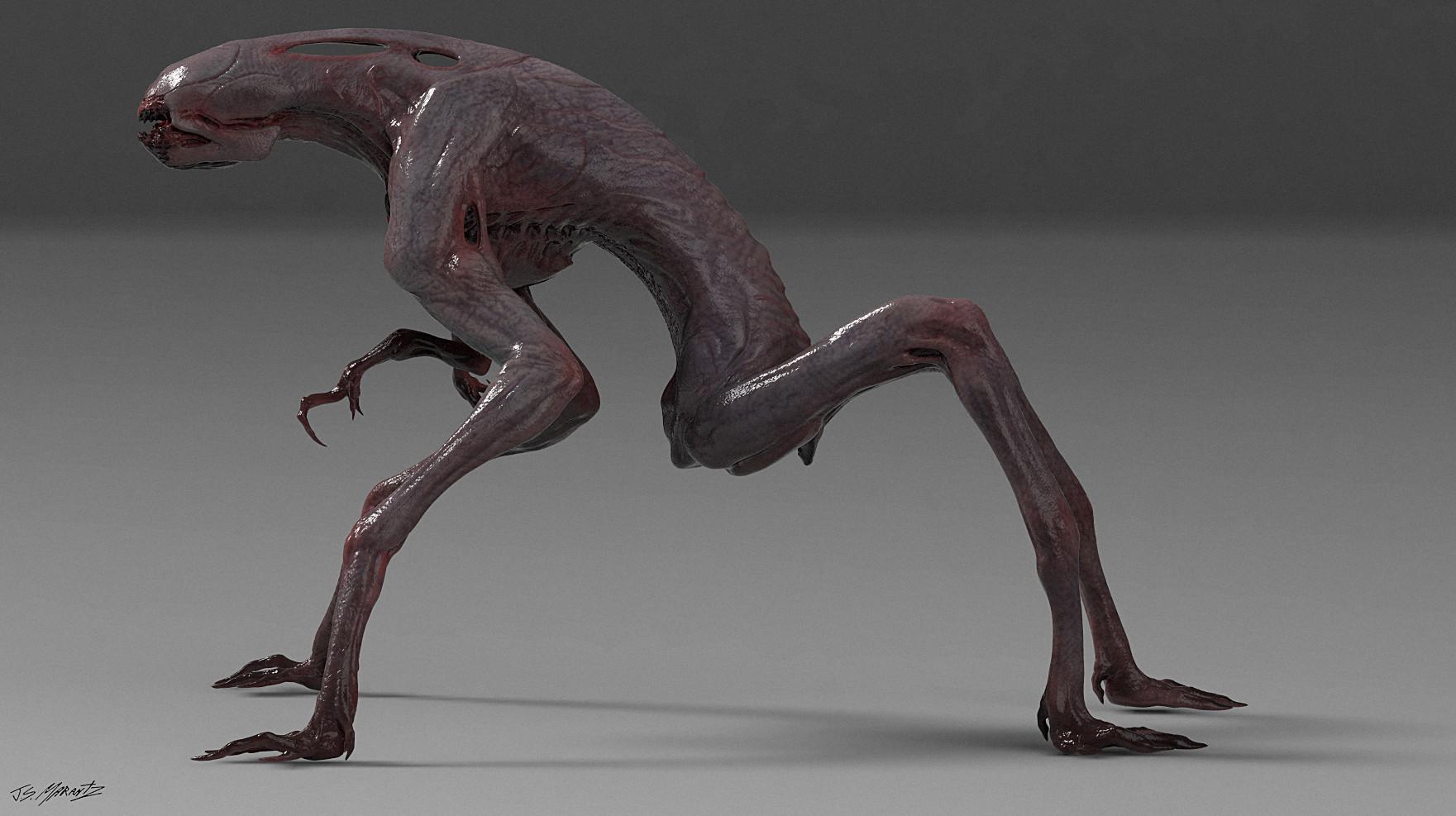 Jerx marantz creature render 6