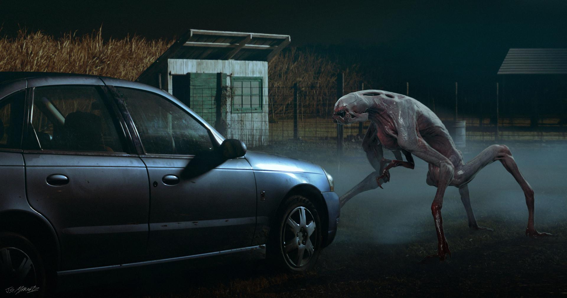 Jerx marantz creature scene 2