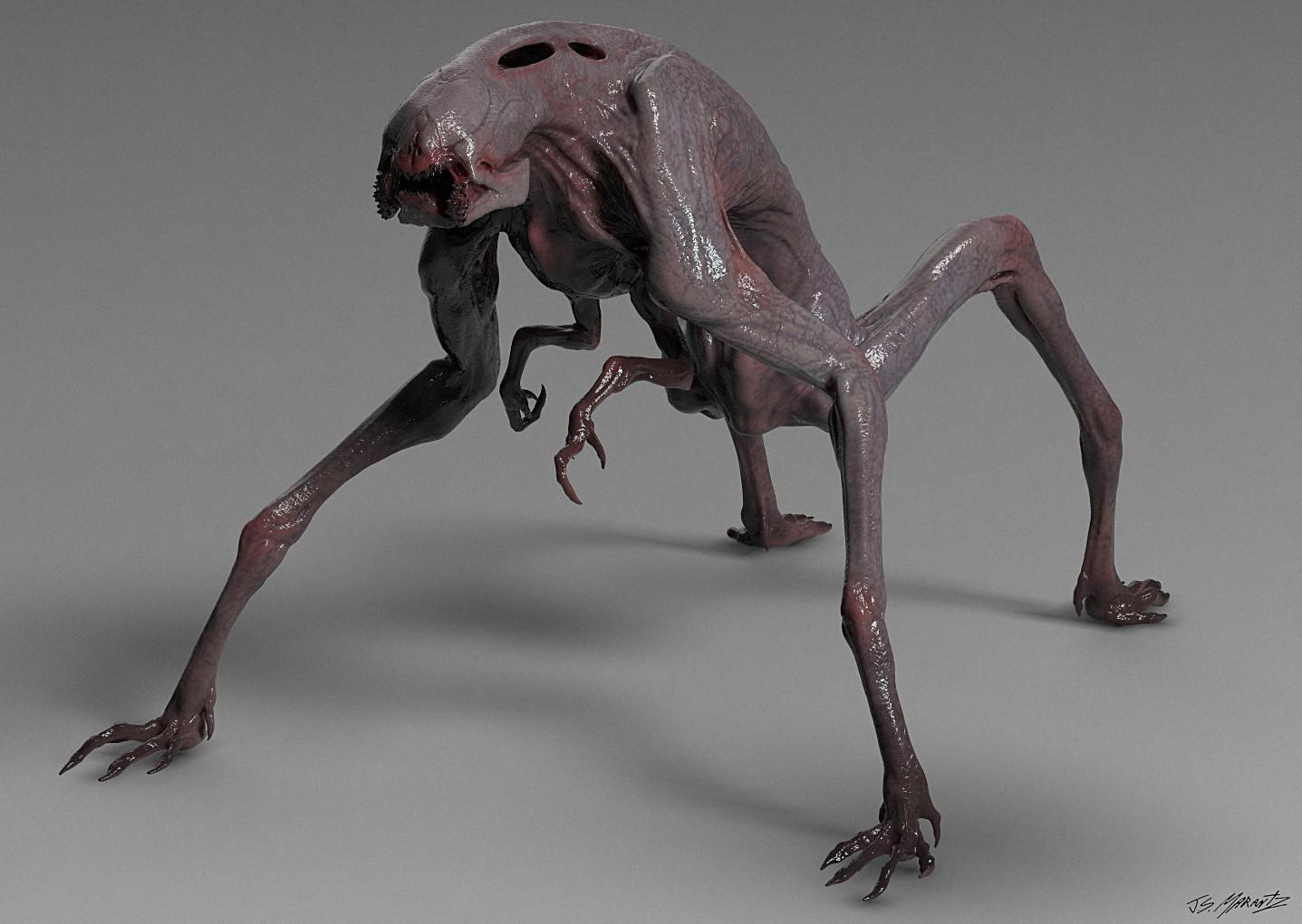 Jerx marantz creature render 3
