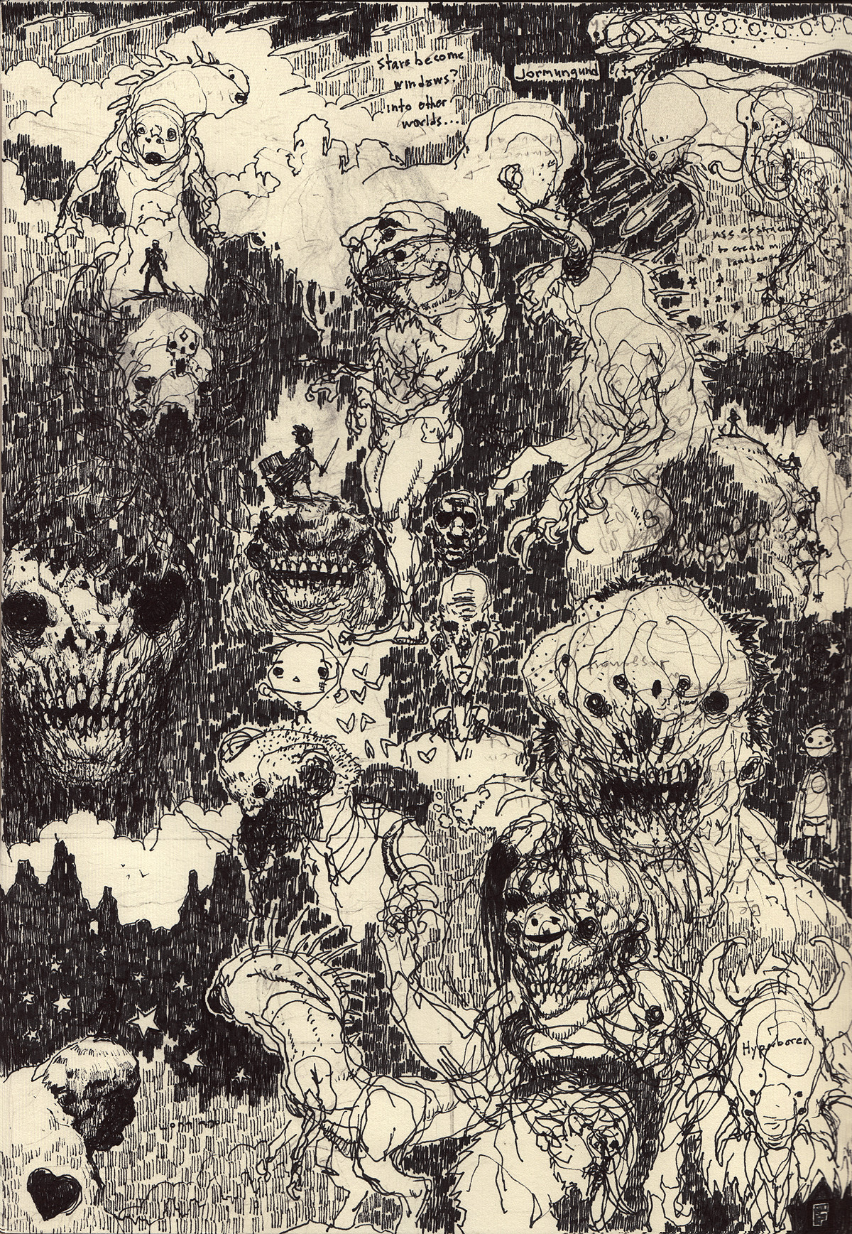 Scott flanders sketchbook dreamsofhyperborea