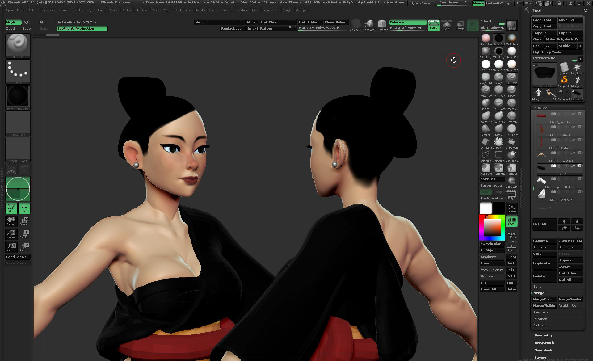 Mercurial forge zbrush64 2016 10 23 00 49 56