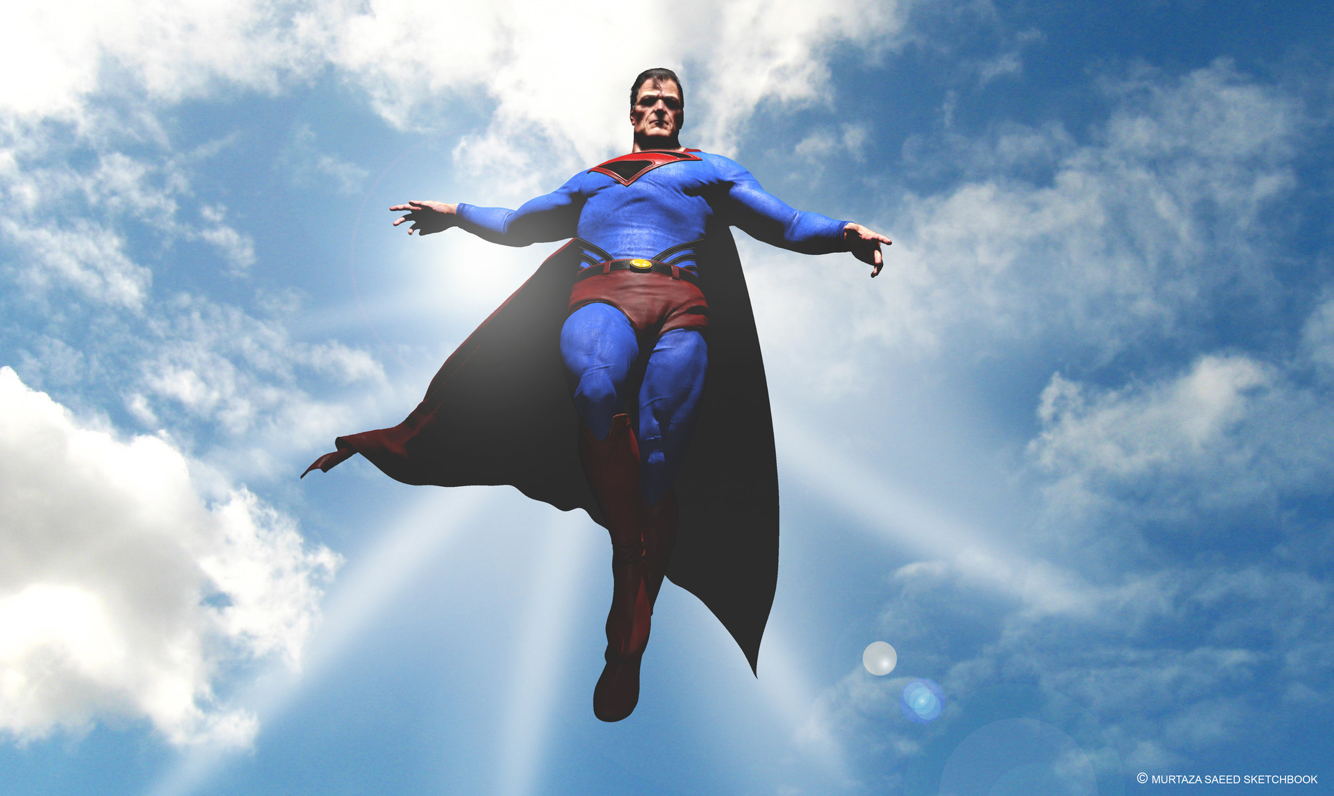Character Artist Superman Kingdom Come