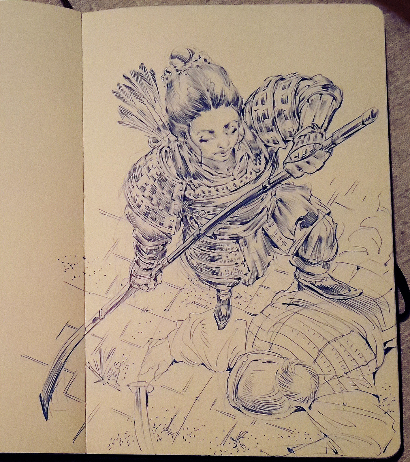 Inktober sketches 2016