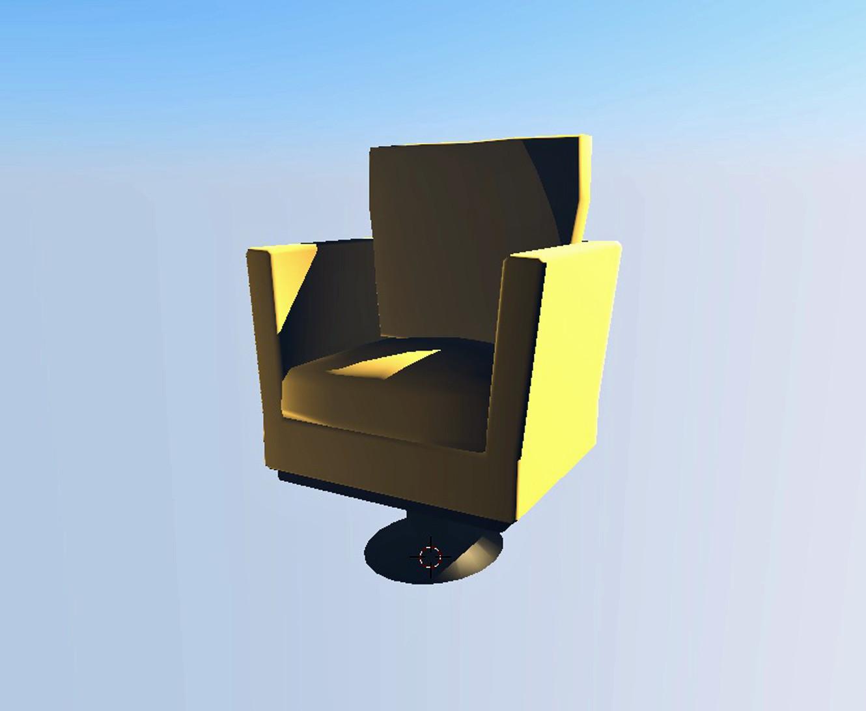 Ashton jensen chair rendered