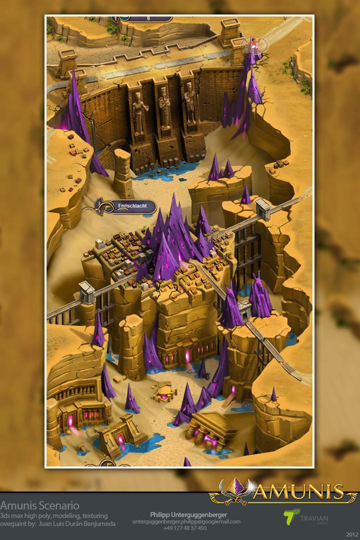 Amunis Scenario screenshot