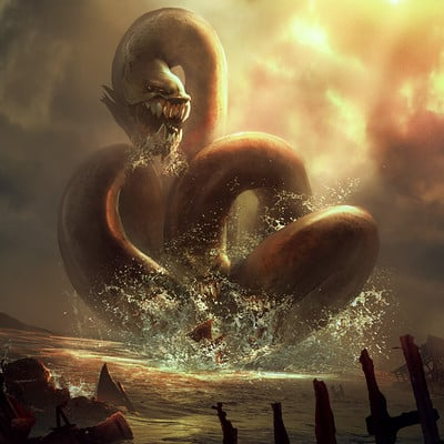 Godwin akpan sea monster