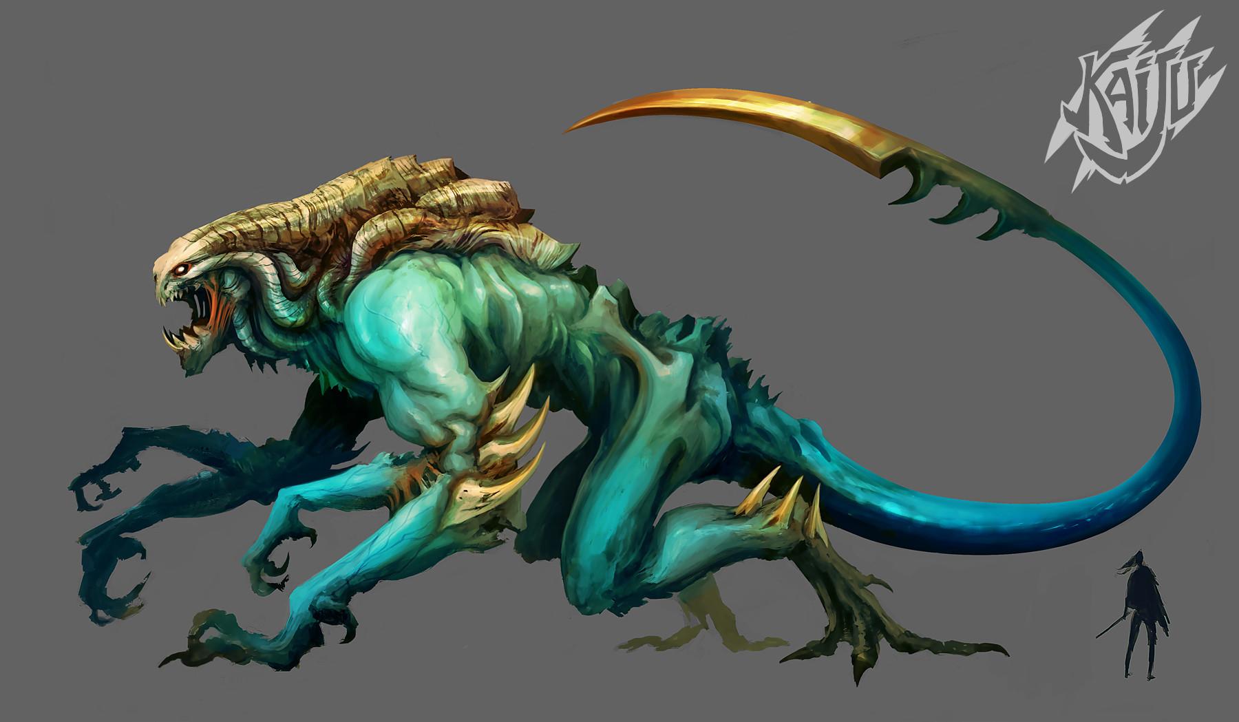 Alexandre chaudret kaijus creature predator08b