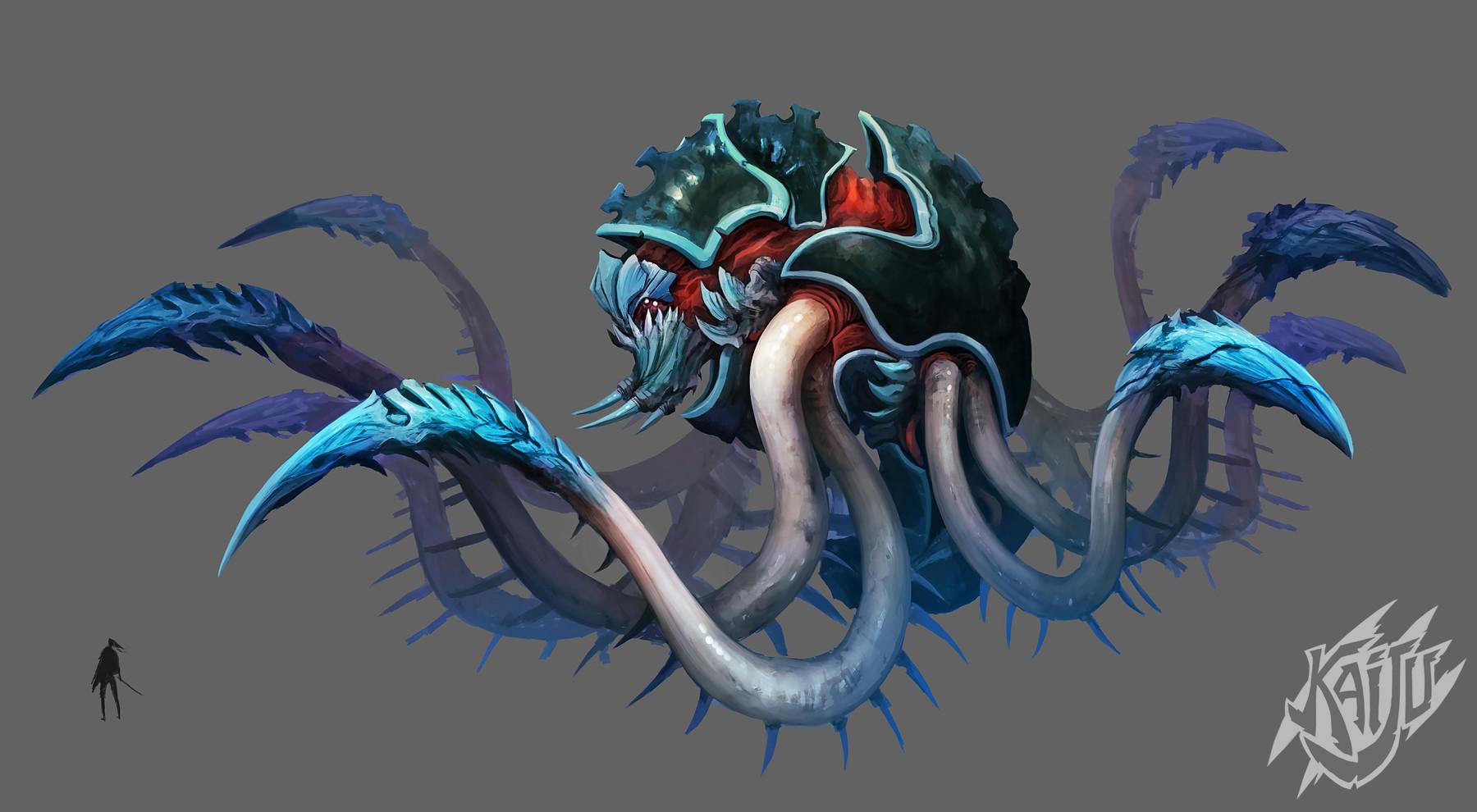 Alexandre chaudret kaijus creature predator10b