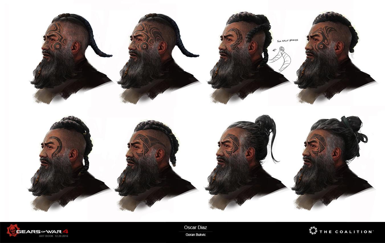 Goran bukvic crazybrush oscar hair