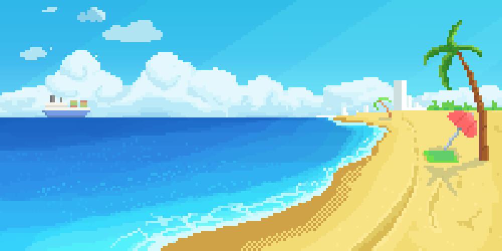 Aaron truehitt pixel beach