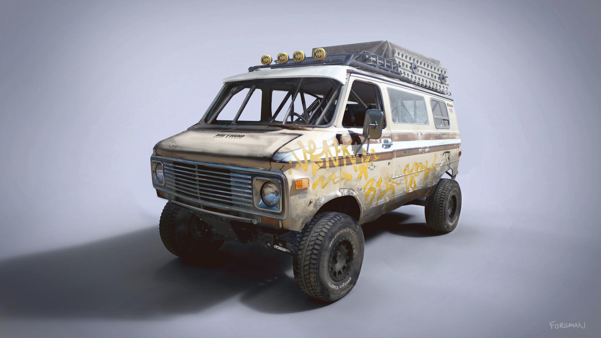db1b1674ec G20 Racing Rat Van. Chevrolet G20