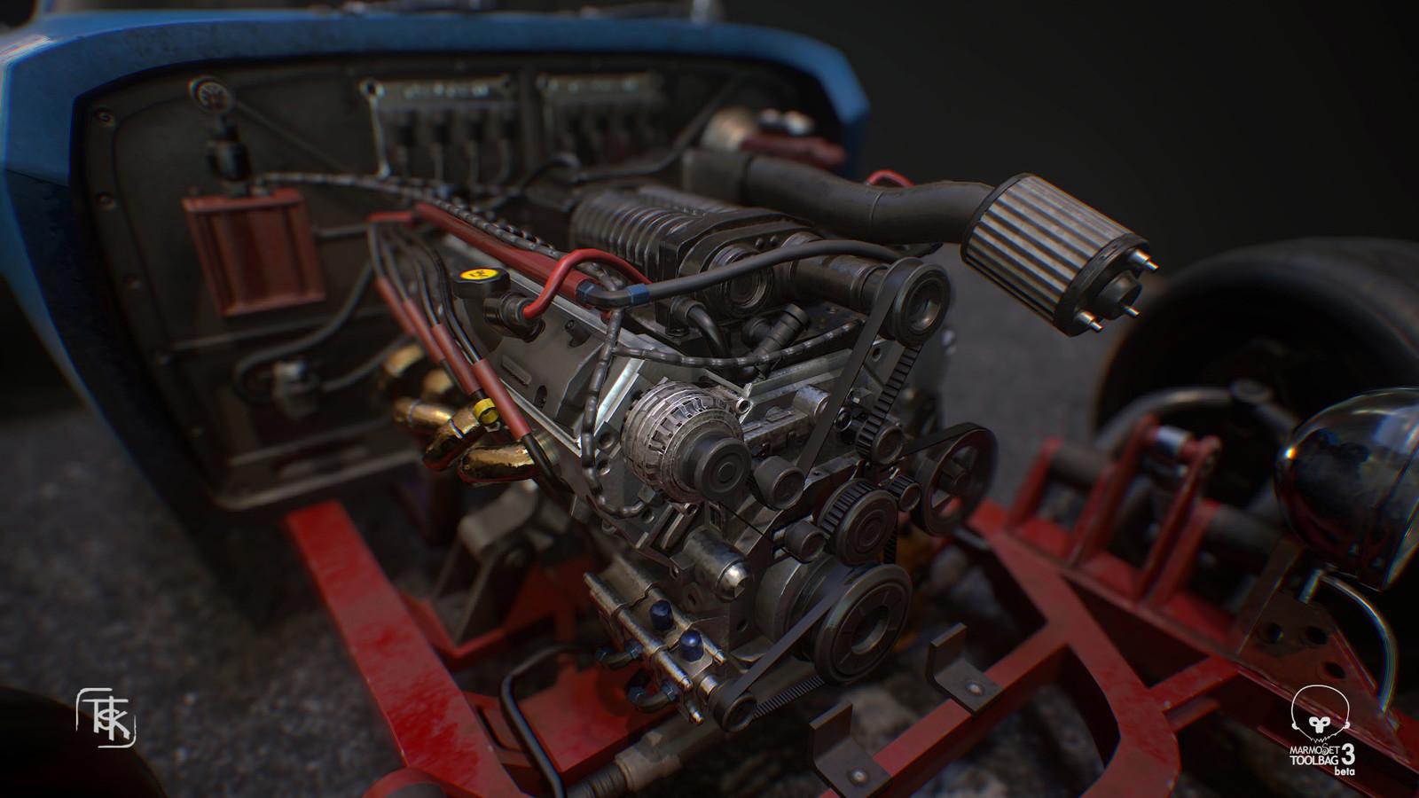 Blown V8