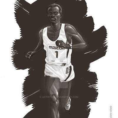 Saimon toncelli correre aprile 2 by artbysai d609yao