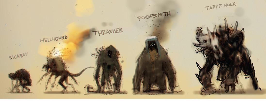 Scott flanders invader monsters detail