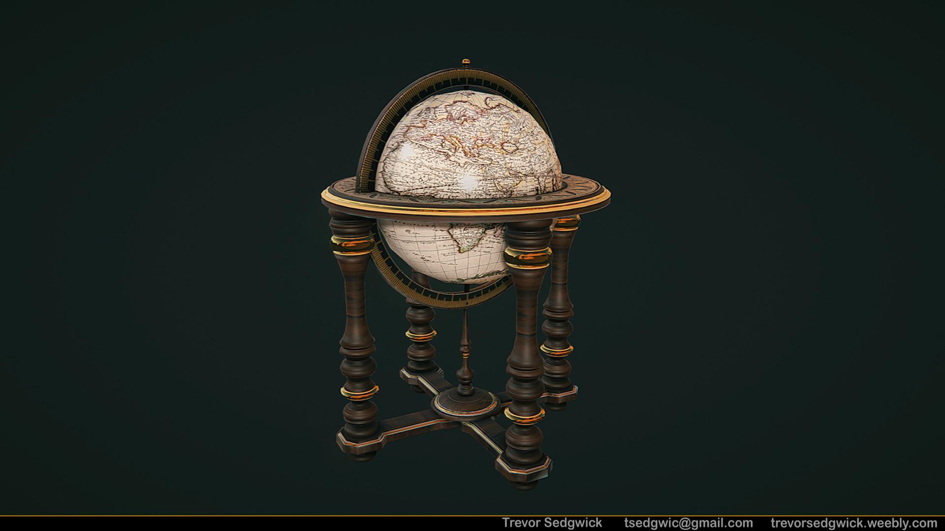 Trevor sedgwick globe large