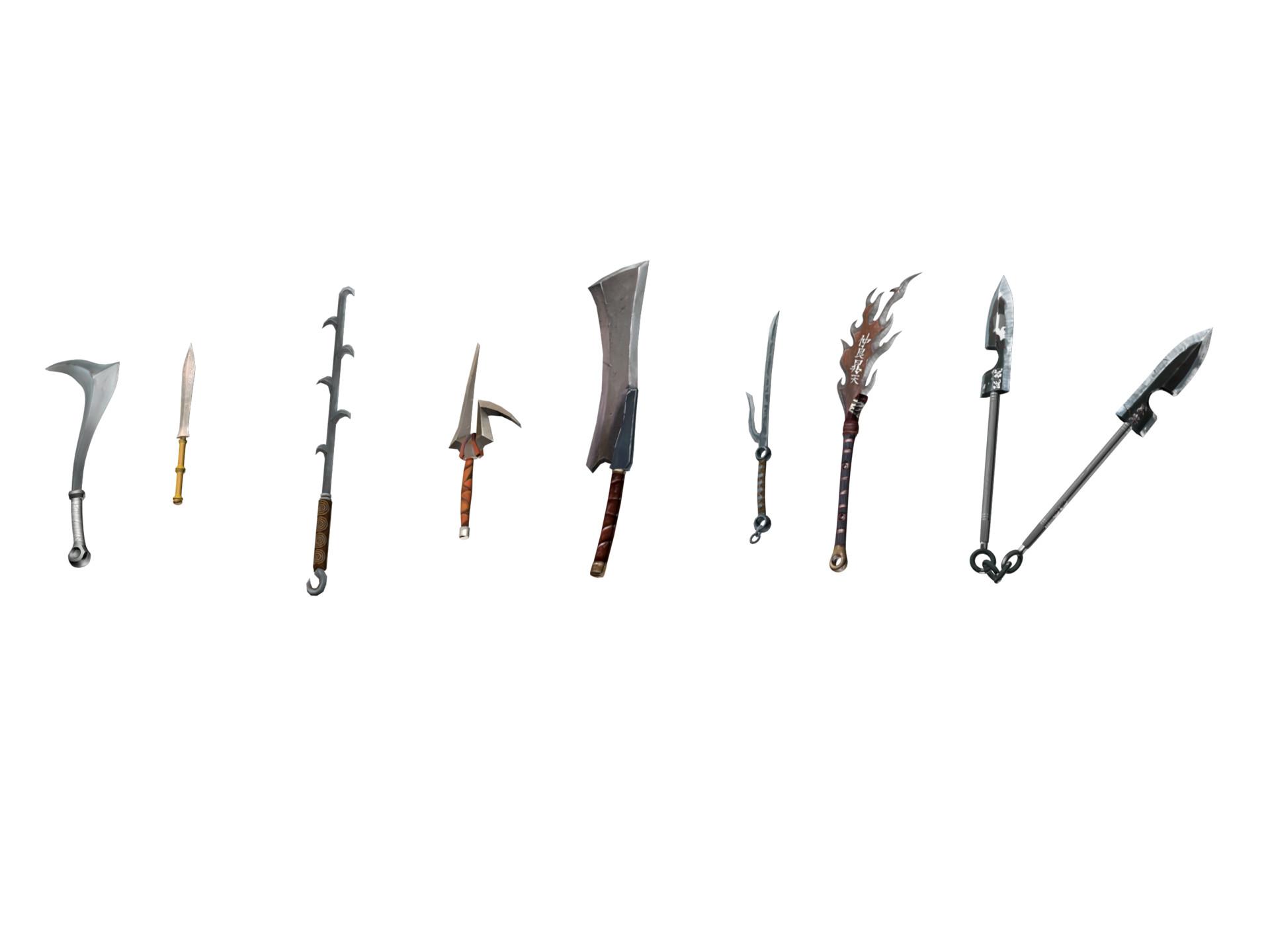 Randall smith blade set 2