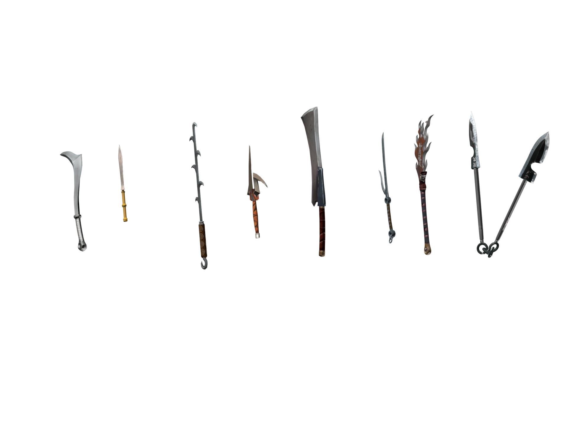 Randall smith blade set 3