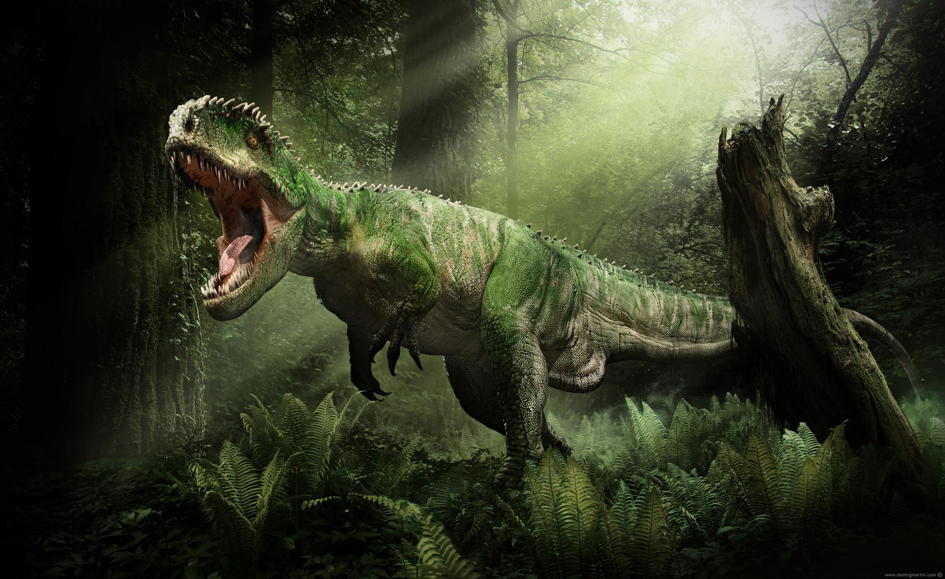 artstation giganotosaurus damir g martin