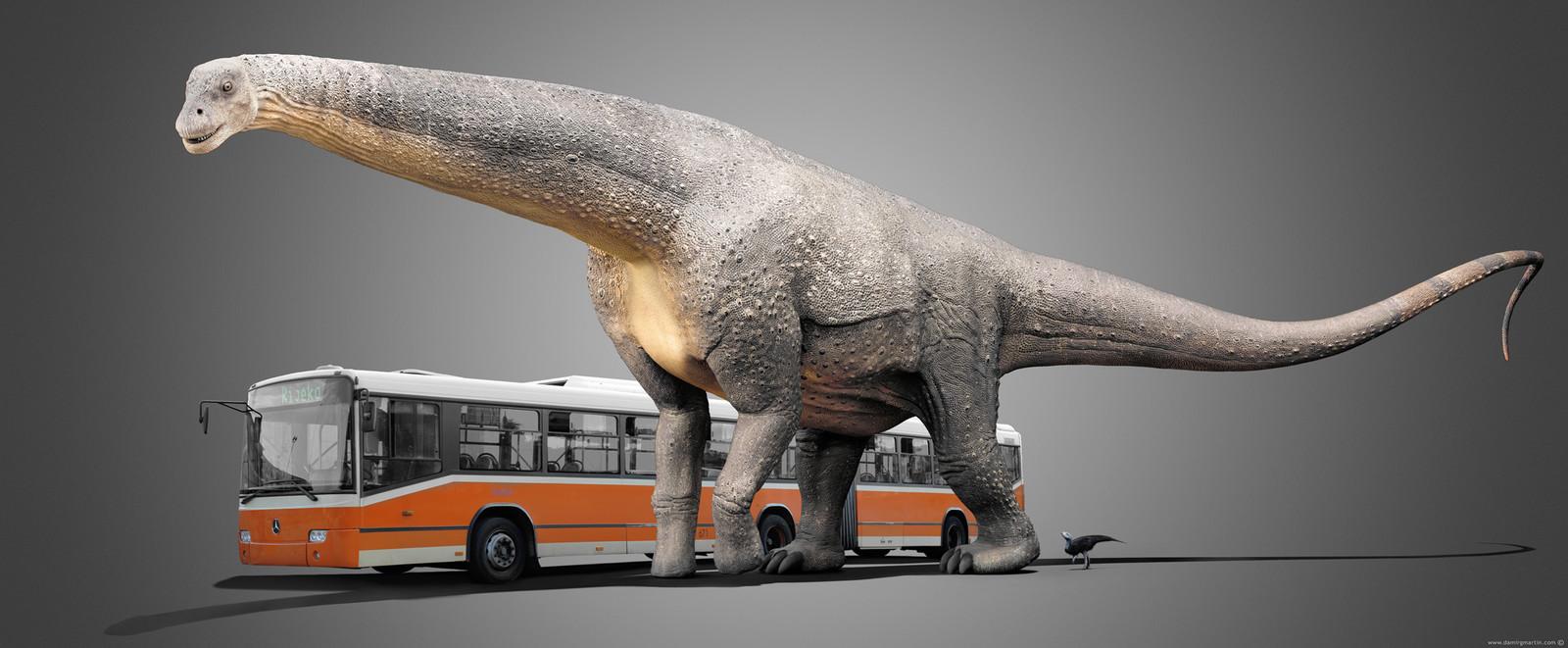 Argentinosaurus vs Bus