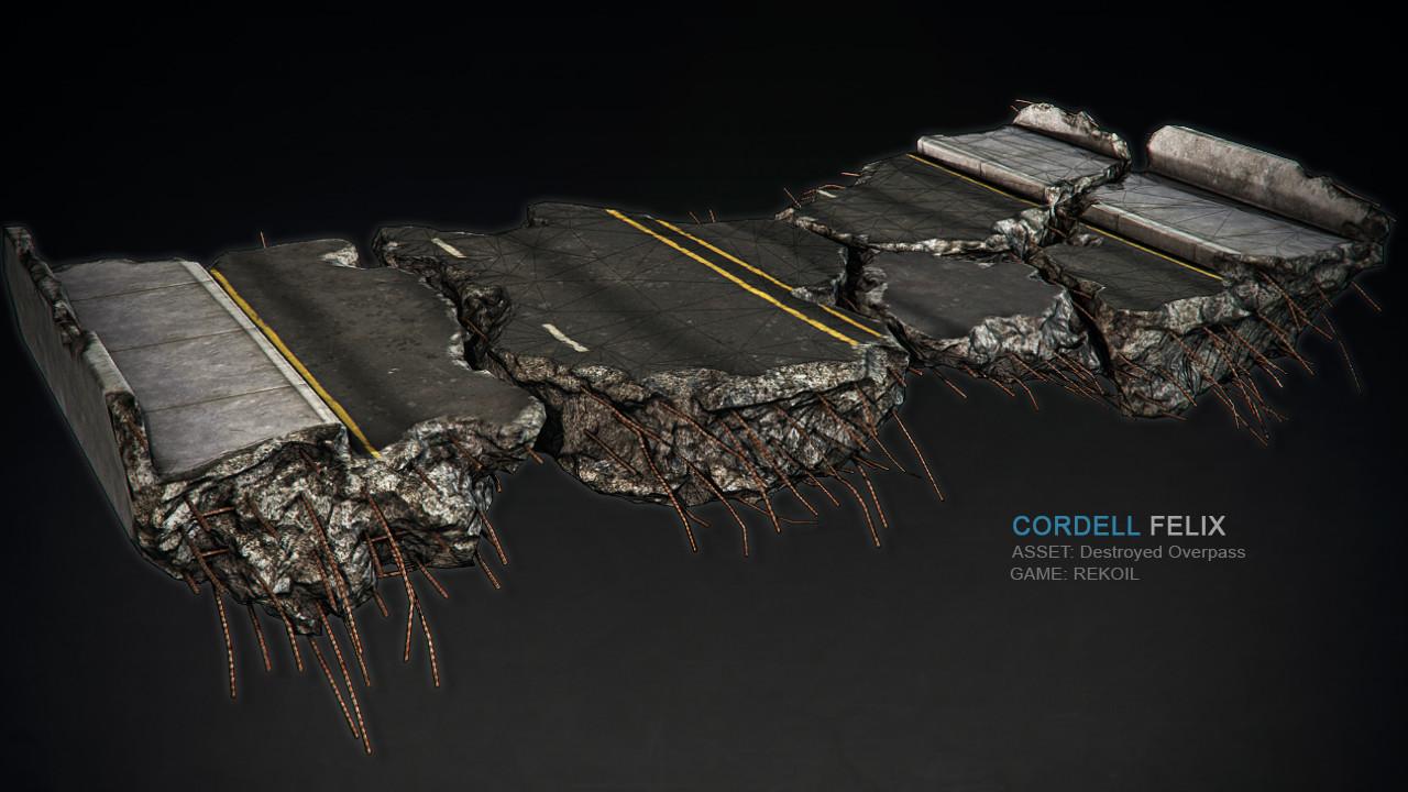 Cordell felix cordell destroyed composite