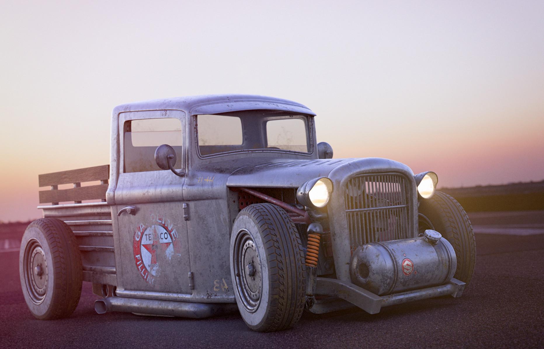 christophe desse - ford 28 truck hot rod for a live presentation ...