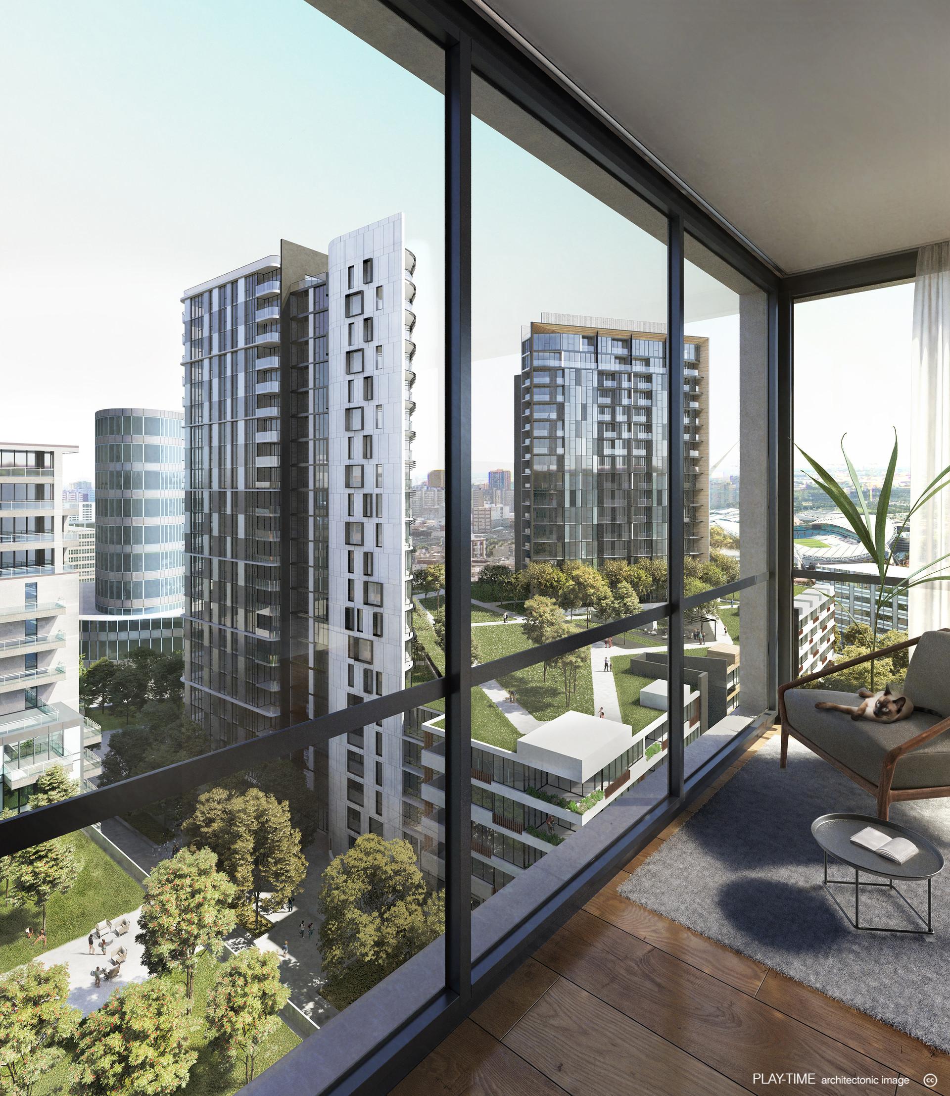 Play time architectonic image chrone architects masterplaning residential sydney olympic park nsw q